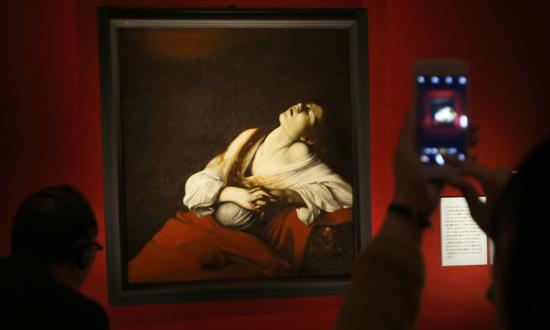 Caravaggio extasis