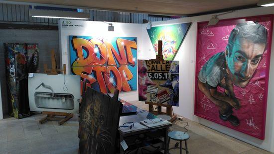 Graffiti y arte urbano en JustMad (1)