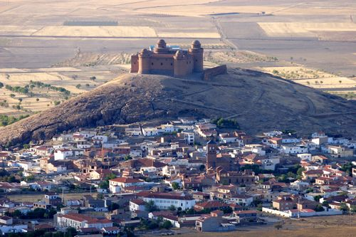 La Calahorra. Vista general 2