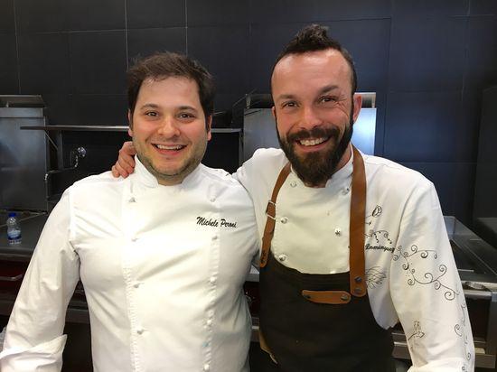 Ivan Domínguez y su segundo Michele Peroni
