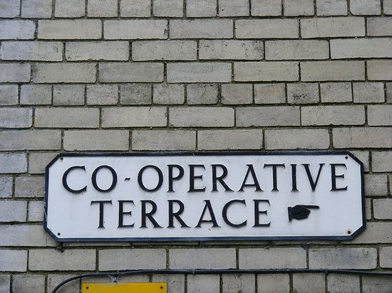 Co-operative terrace
