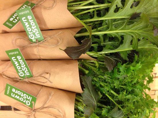 Cultivado en el supermercado