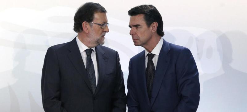 Soria y Rajoy
