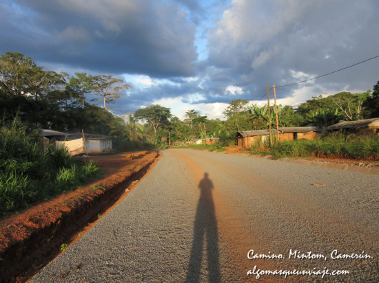 Camino en Mintom