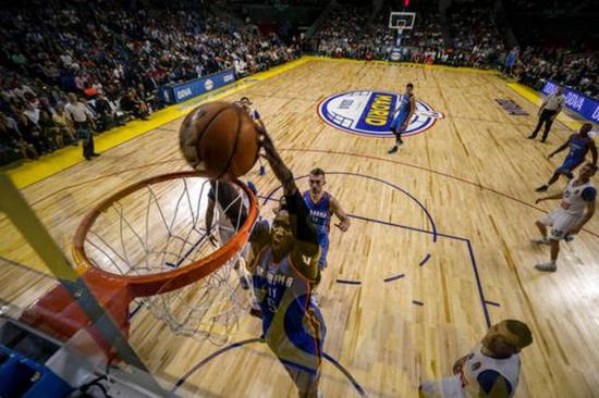 529Spain Madrid Thunder Basketball