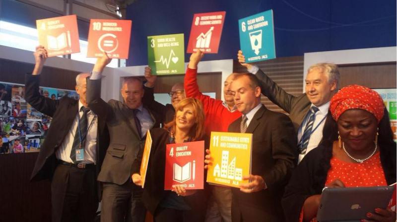 @UCLG_Saiz_delegation with goals