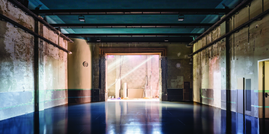 4. Experimental Exhibition Space, at former Theatre of the Cooperative Pau i Justicia