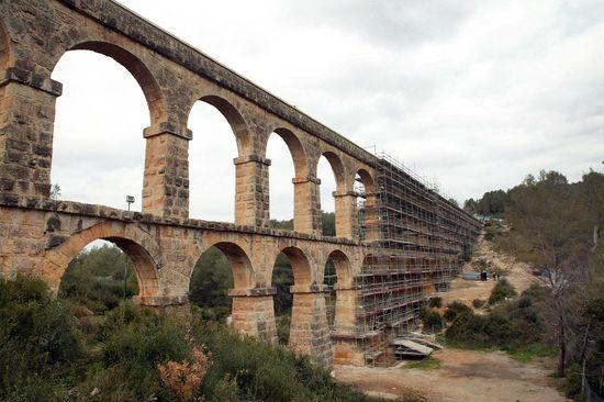 Josep Lluis Sellart Acueducto Romano de Tarragona llamado Pont del diable