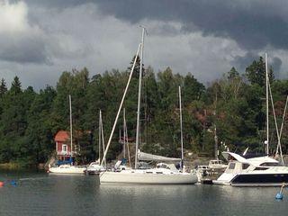 Rincón de la bahía de Helsinki