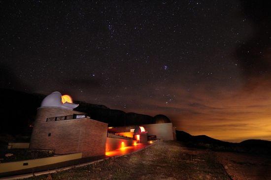 Centre d'Observació de l'Univers, en el parque astronómico del Montsec, en Lleida Jordi Bas