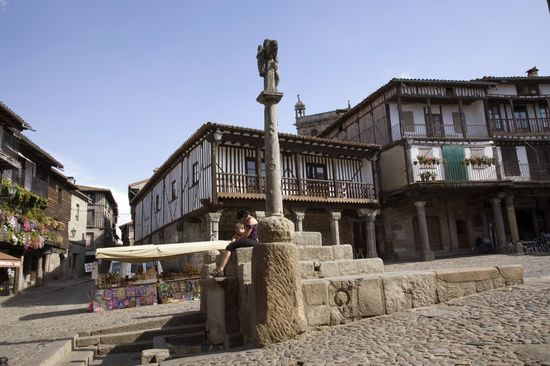 Plaza mayor de La Alberca Isaac F Calvo ELPAIS