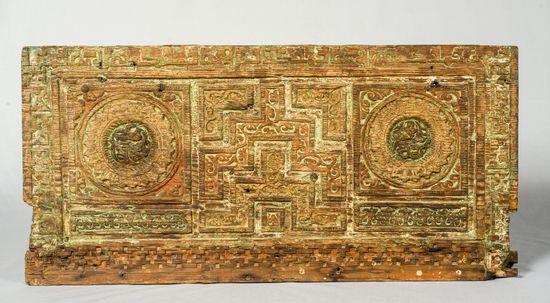 03b_Dossier du minbar de la mosquée des Andalous de Fès © Fondation nationale des musées marocains
