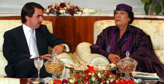 Aznar-Gadafi