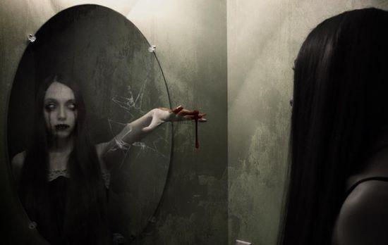 Coming-through-the-mirror