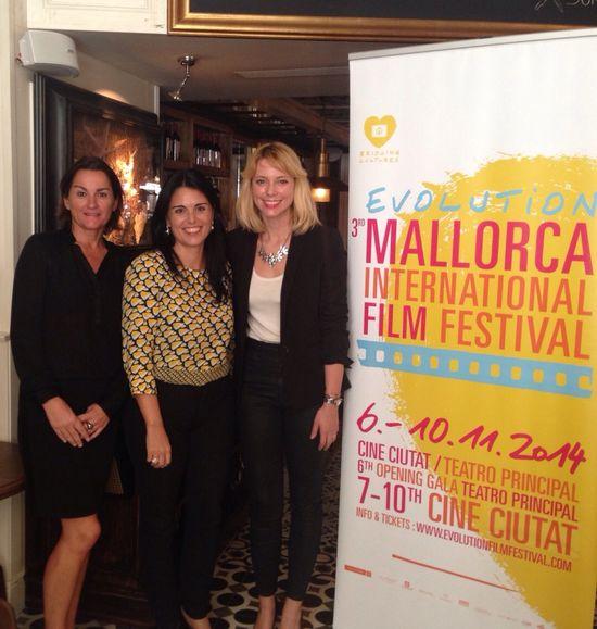 Tone Adsero, Director of Hotel Cort, Esperanza Crespí and Sandra Seeling