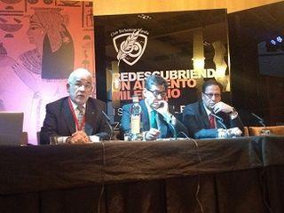 Presentación del Simposio, Jorge Pastor a la izquierda