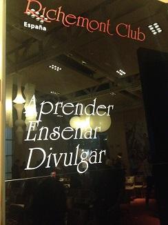 Principios del Club Richemont en España