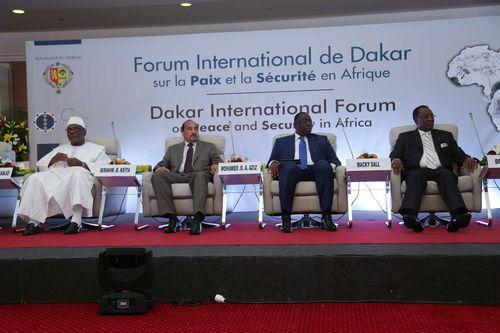FORUM INTERNATIONAL DE DAKAR SUR LA PAIX ET LA SÉCURITÉ EN AFRIQUE AU KING FAHD PALACE  (1)