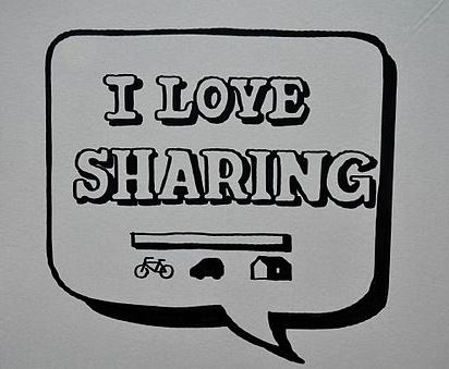 Love Sharing By Markus Henkel [CC-BY-3.0], via Wikimedia Commons