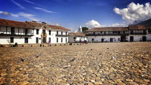 Plaza de Villa de Leyva-Paco Nadal