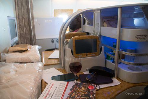 Business Class A380 Emirates 4