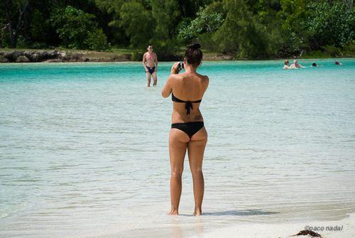 2. Mauricio, playa de la isla de los Ciervos