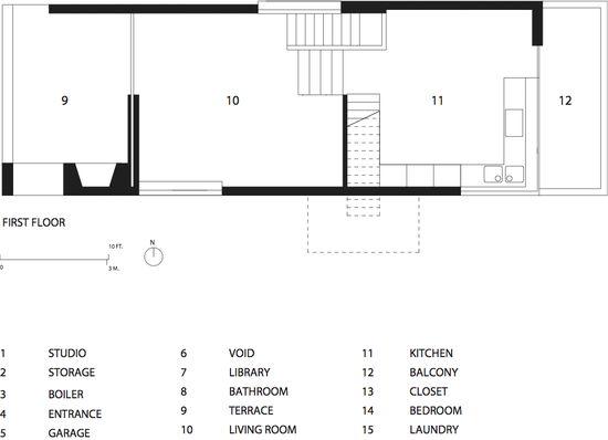 Zoka Zola Pfanner House first floor