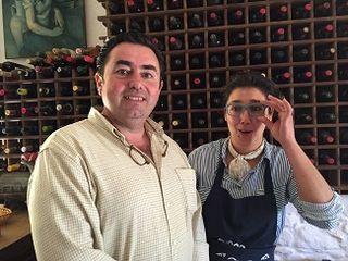 Eduardo Sousa y su mujer Jacinta Mayoral