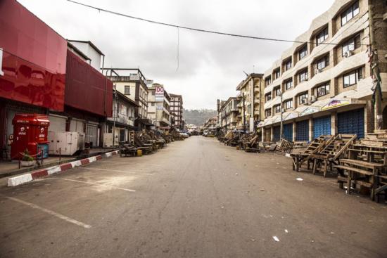 Ap-fotos Sierra Leona ante el ebola