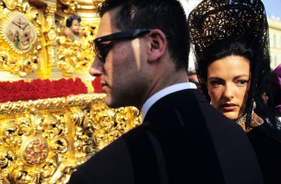 Semana Santa en Sevilla Pawel Wysocki-Corbis