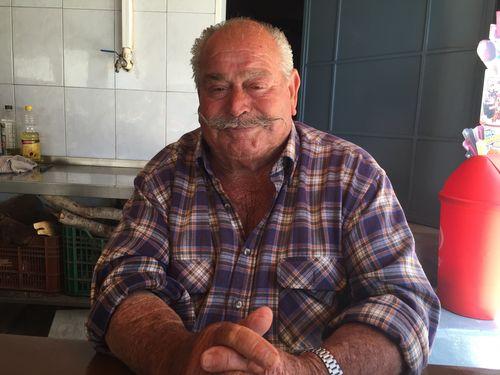 Juan Ferrer, pescador y cocinero