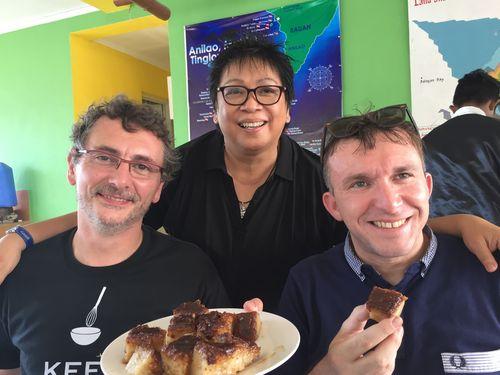 Tres grandes cocineros, Andoni Luis Aduriz,, la filipina Myrna Dizón y Chele González