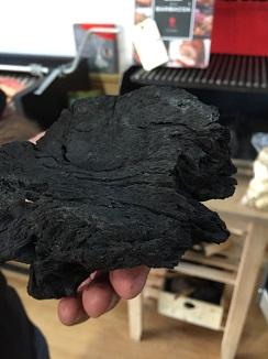 Carbón de encina de Extremadura