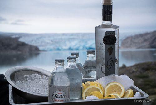 Gin tonic en Groenlandia - Paco Nadal