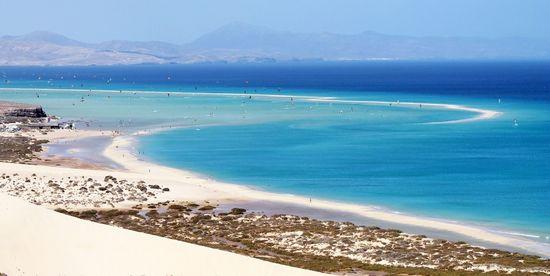 Playa de la Barca Pájara Fuerteventura Turismo de Canarias