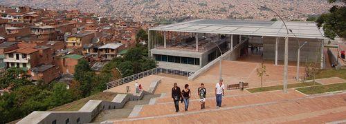 Biblioteca Tomás Carrasquilla in Medellín Source Omar Uran