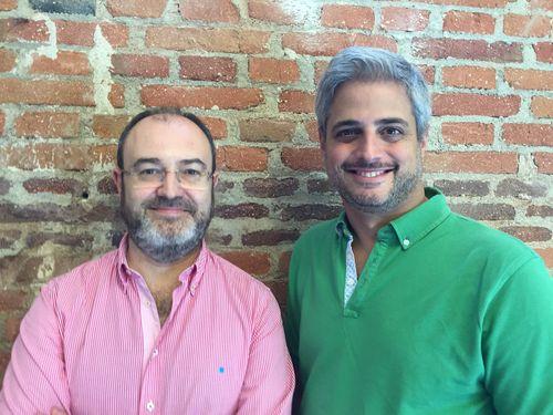 José Luis Cabañaro y José de Isasa