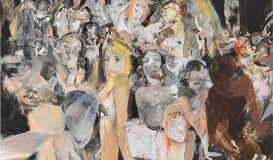 Cecilly Bronw pintura detalle