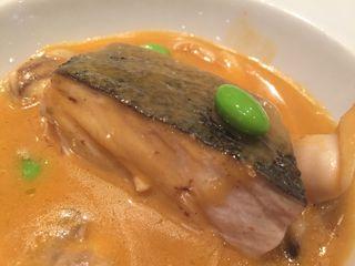 Llampuga al curry tailandés panang