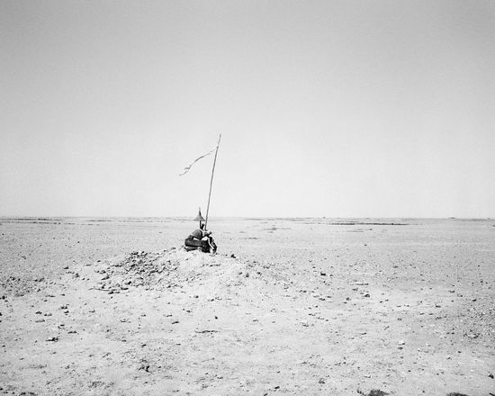 7. Unidentified memorial in the desert, south of Namibe I