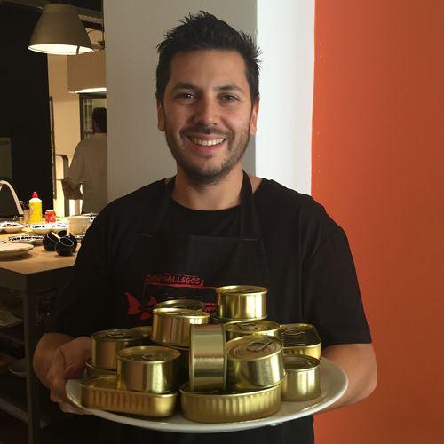 El chef Diego Gallegos