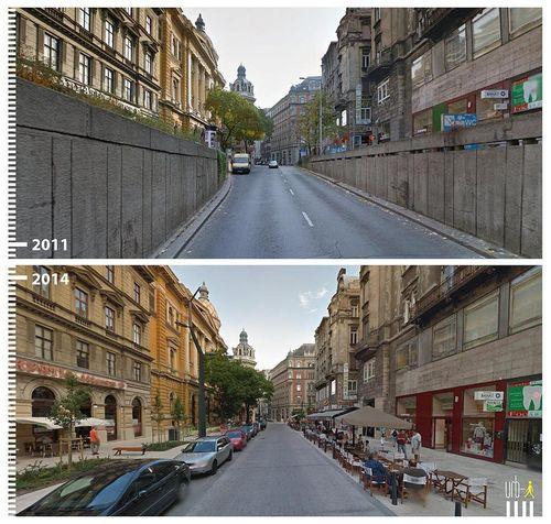 Ferenciek tere, Budapest, Hungary