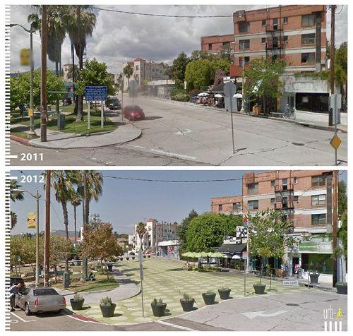 Griffith Park Boulevard, Los Angeles, California