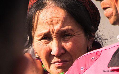 Mujer kazaja