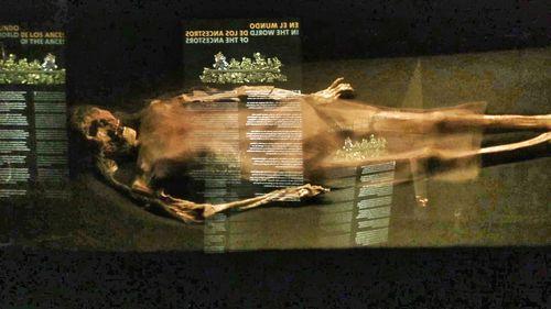 Momia de la señora de Cao (Perú) - Paco Nadal