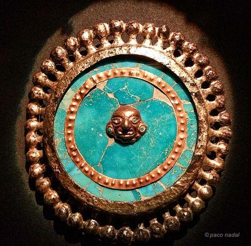 Museo tumbas Reales Sipán, orejera-Paco Nadal