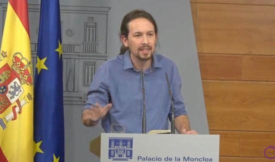 Pablo Iglesias a la Moncloa