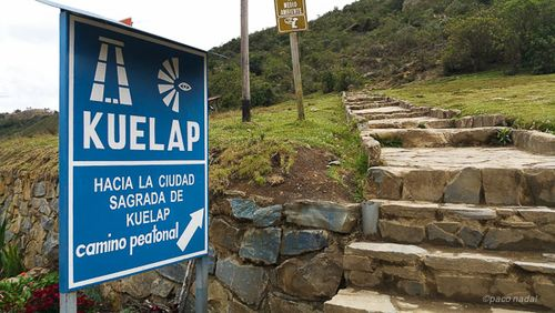Kuelap, camino de acceso - Paco Nadal