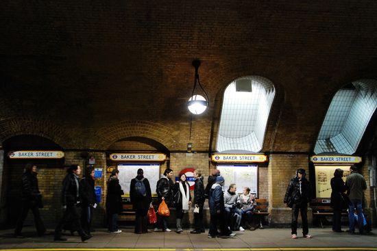 Baker Street Metro de Londres