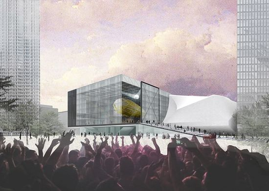 The Factory Manchester - Copyright OMA